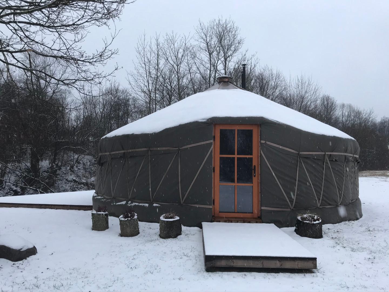 VasaRojaus jurta -žiema