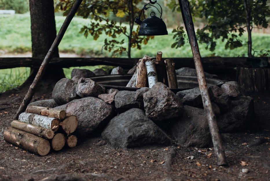 Miško rojaus laužavietė
