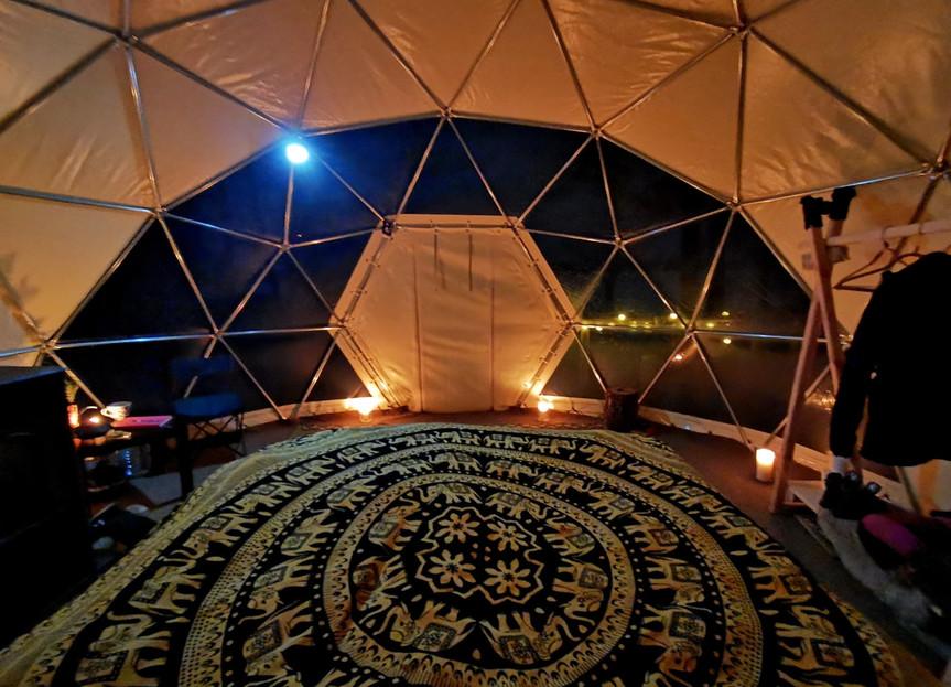Asalnų kupolas - interjeras