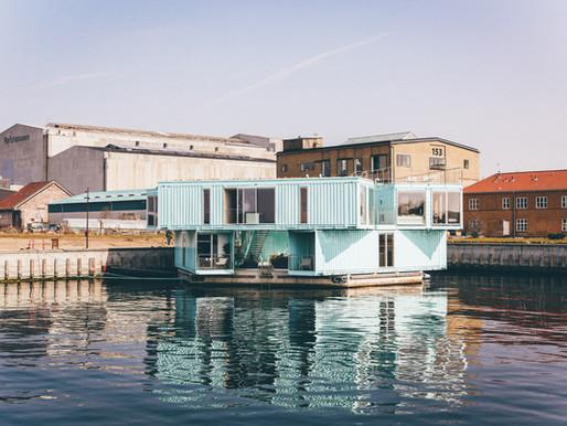 Jūrinių konteinerių panaudojimas. Galimybės ir iššūkiai