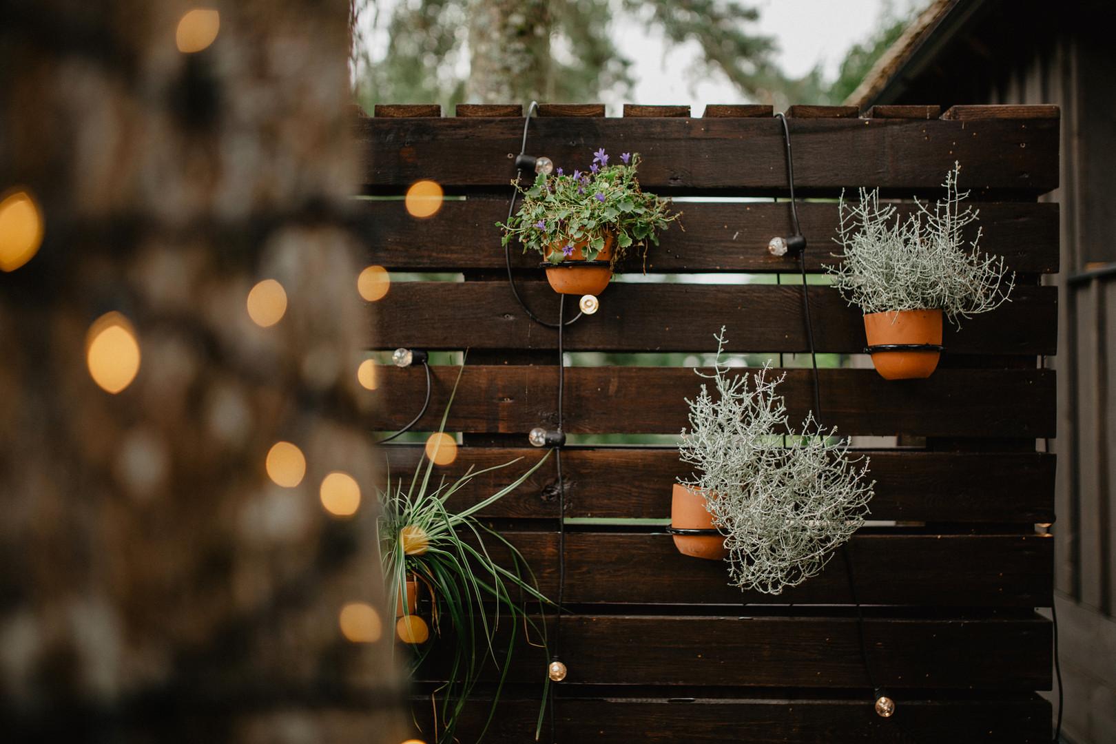 Atokampio pietinis namelis - terasa