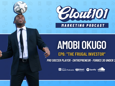 Amobi Okugo on Athlete Branding, Financial Education, and A Frugal Athlete | Clout101 Podcast