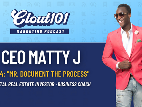 Matty J on Clubhouse, Digital Products, and Marketing on Turo & Airbnb | Clout101 Podcast