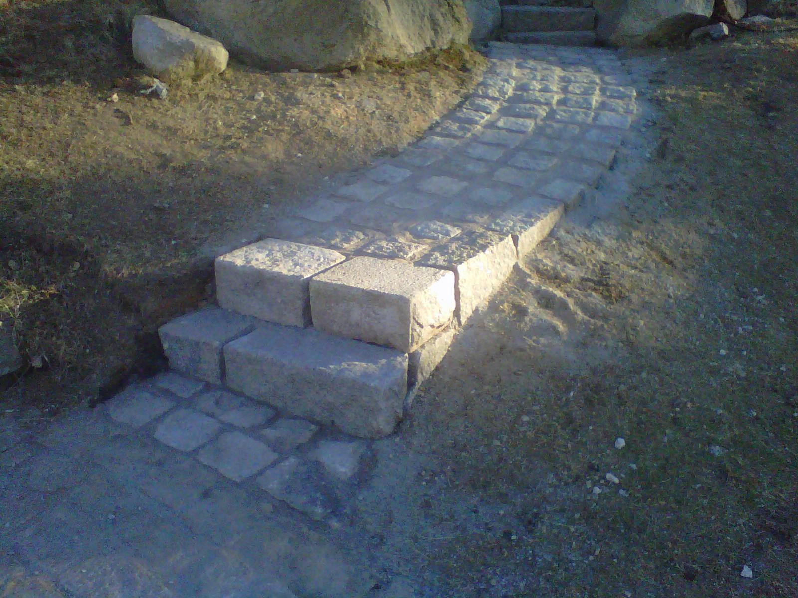 Granite Riser & Path