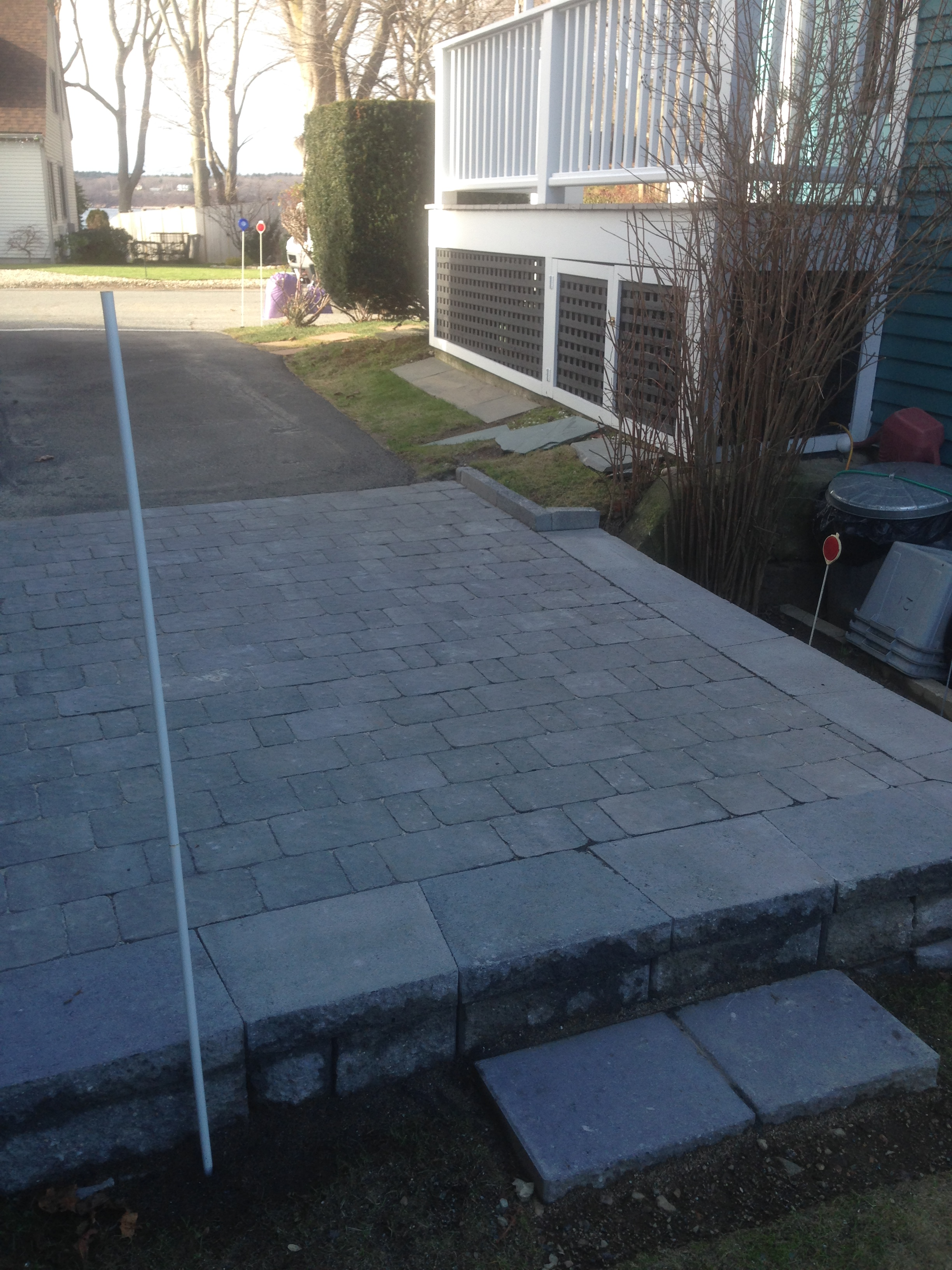 Paver Drive Extension
