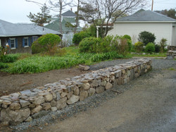 Dry Set Stone Wall