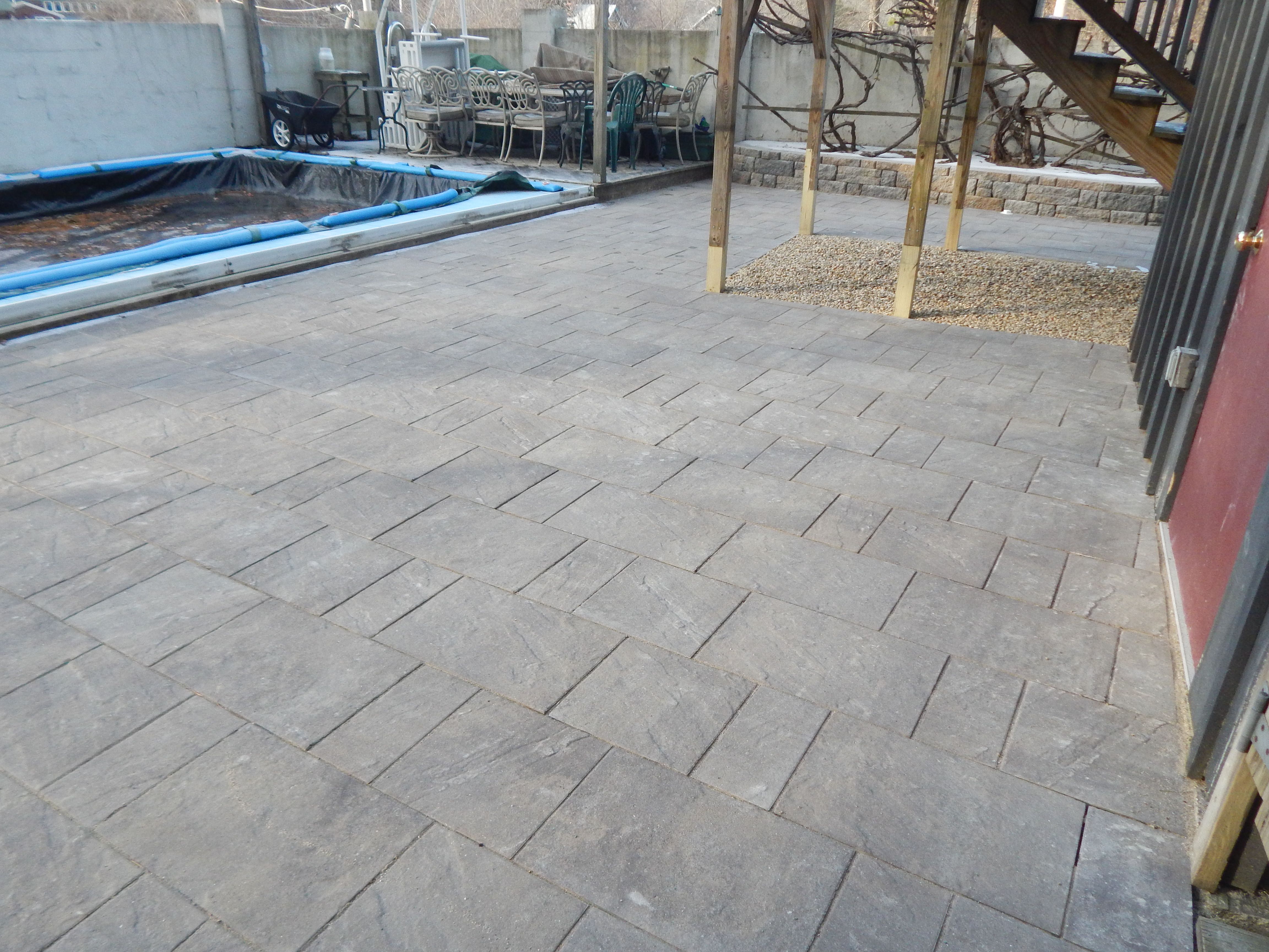 Paver Surround