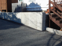 Poured Concrete Wall