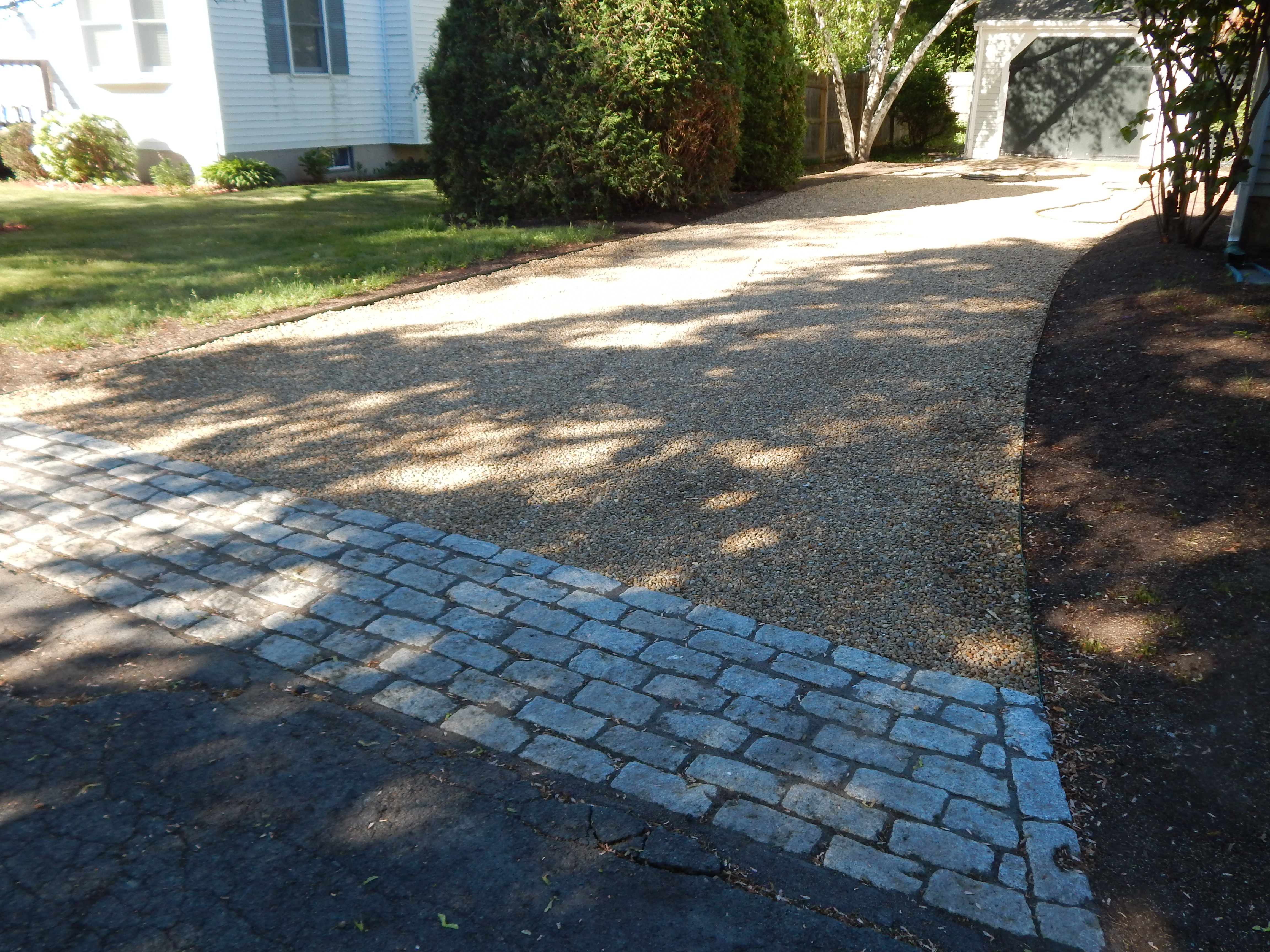 Stone Drive/Cobble Apron