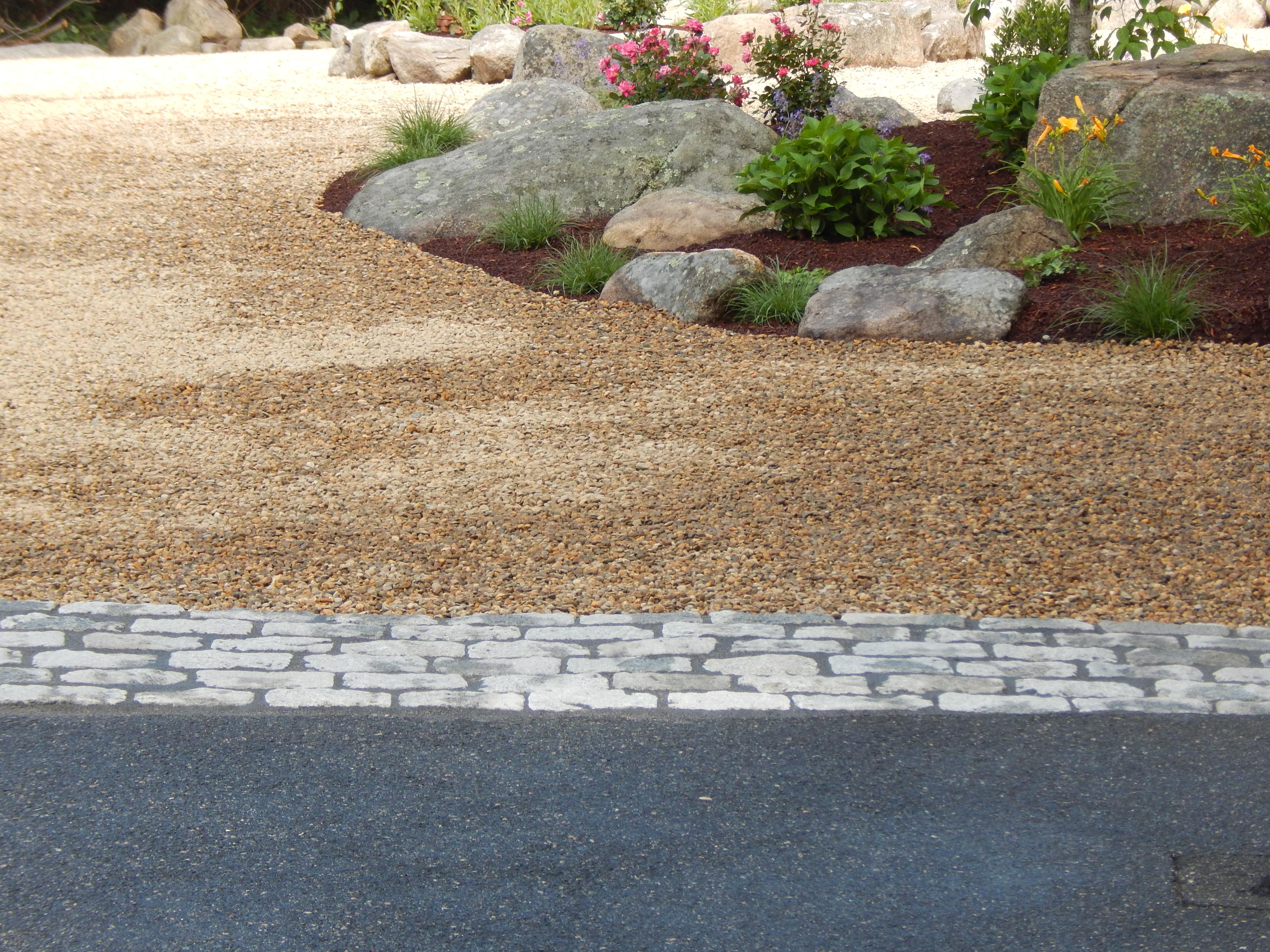 Pea Stone Drive/ Cobble Apron