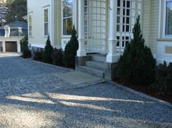 Granite Curbing and Landing