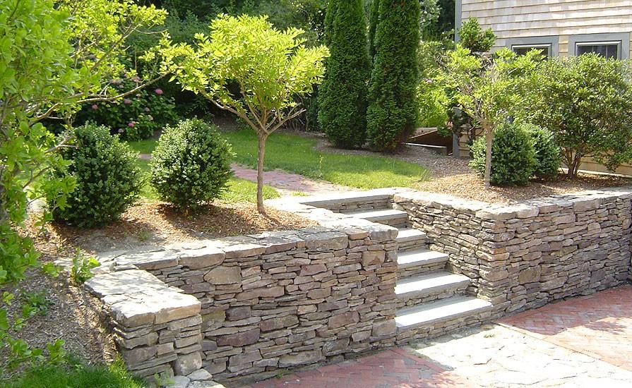 Stake Stone Penn Fieldstone Wall
