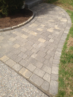 Paver Radius Walkway