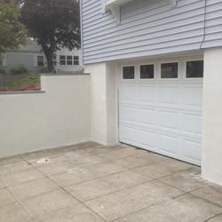 Poured Concrete/Stucco Finish Wall