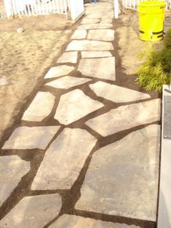 Large Irregular Flagstone Walkway