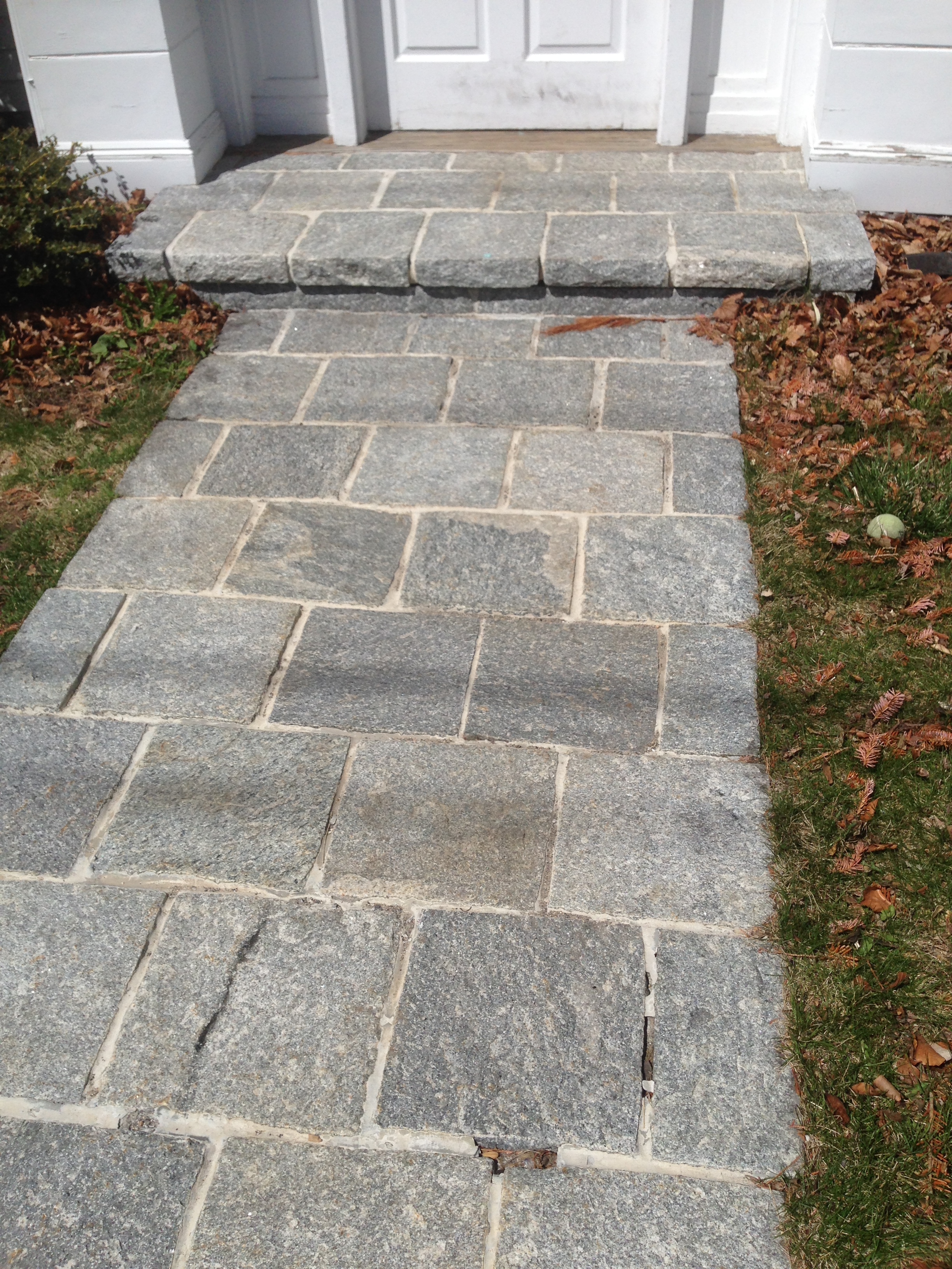 Walkway Granite Pavers