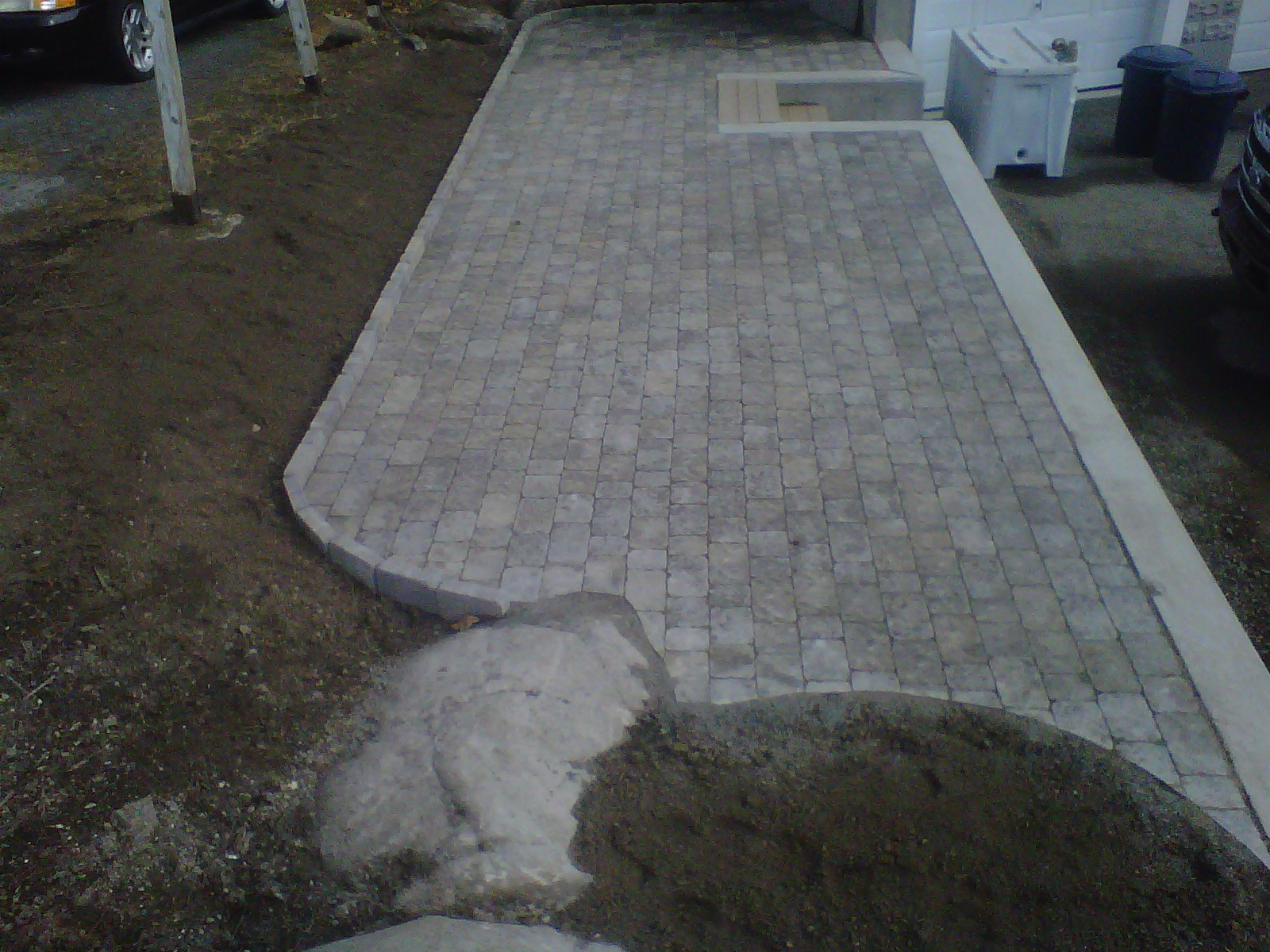 Elevated Paver Patio