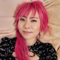 pink hair save the world