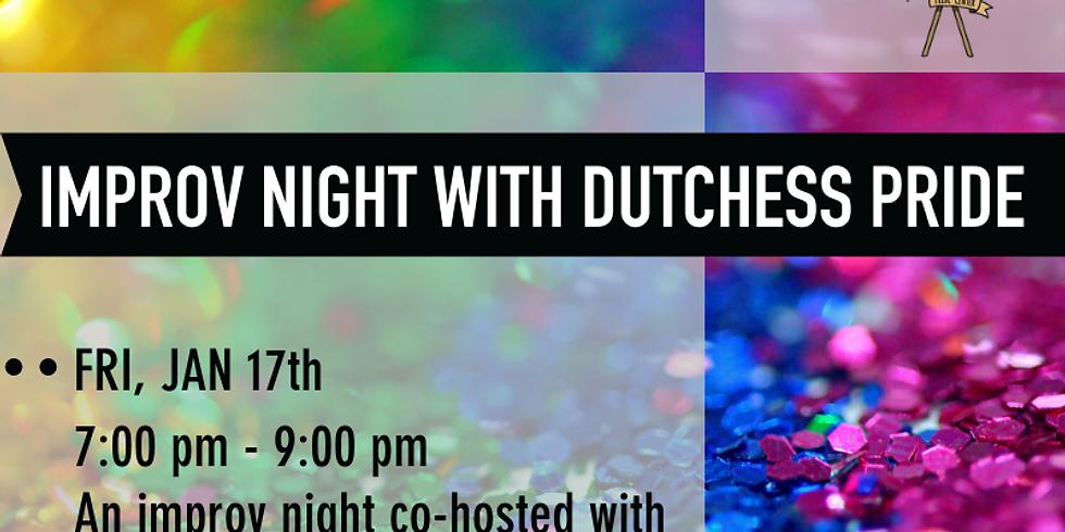 Improv Night with Dutchess Pride