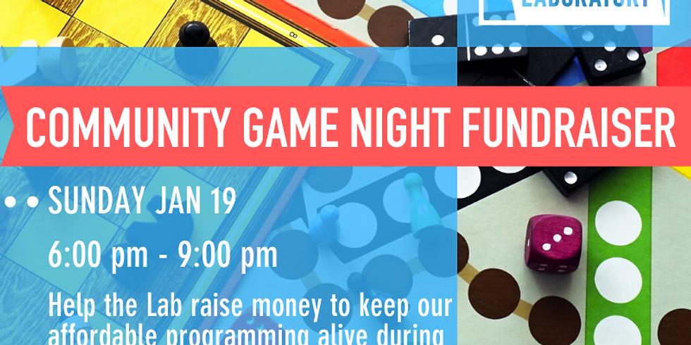 Community Game Night Fundraiser