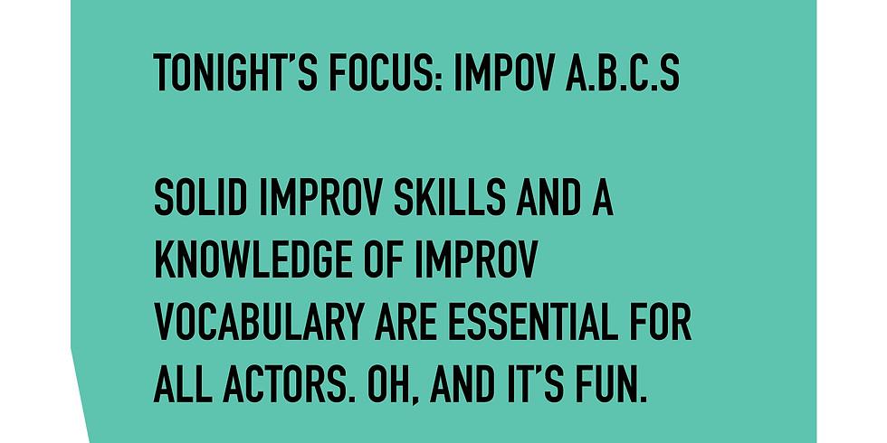 FREE Acting Workshop: Focus IMPROV A B Cs