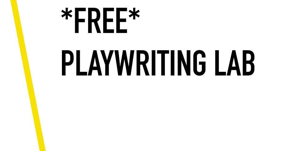 *FREE* Playwriting Lab