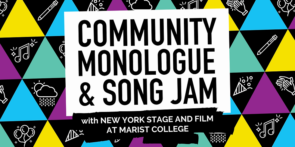 Community Monologue and Song Jam (Part 2: The Show!)
