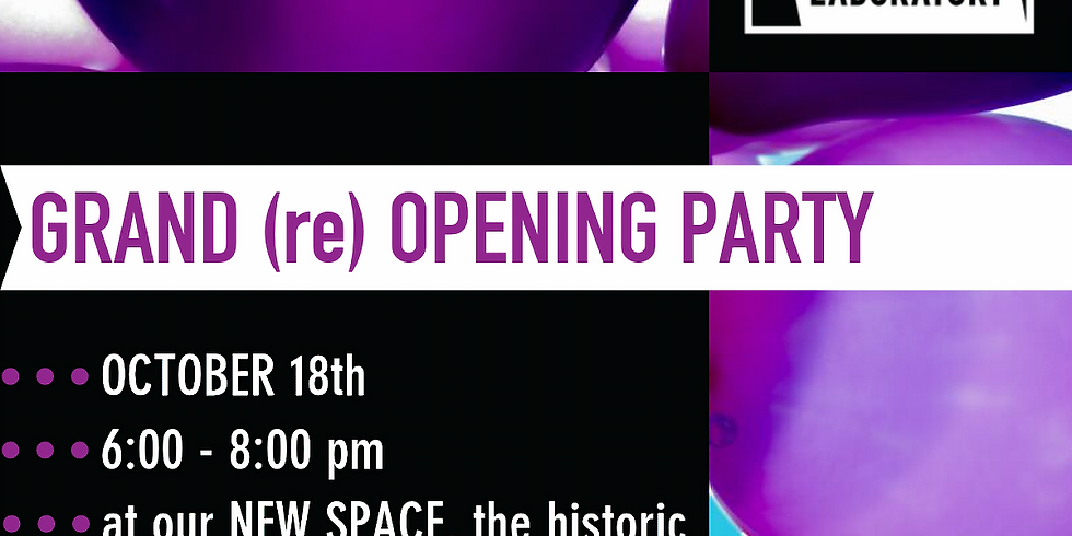 GRAND (re) OPENING PARTY