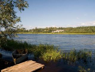 Рыбалка на реке Оять