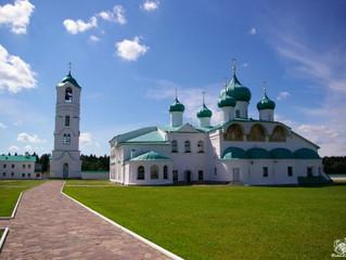 Свято-Троицкий Александра Свирского мужской монастырь.