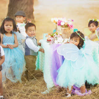 outdoor fairy kids party ideas cute tutu