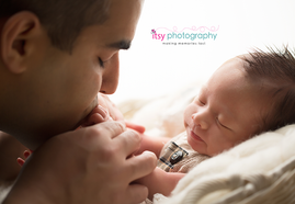 Newborn photographer, baby photography, infant photography, newborn boy,  dad and baby, newborn posing ideas,