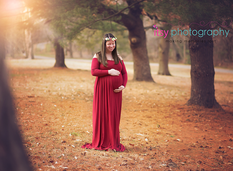 Katie's Outdoor Maternity Session ~ MD, VA, DC Newborn Baby Photographer
