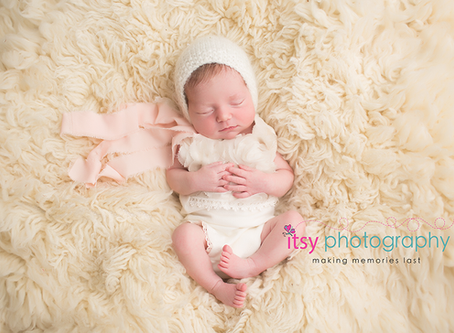 Baby Vera Newborn Session ~ MD, VA, DC Newborn Baby Photographer