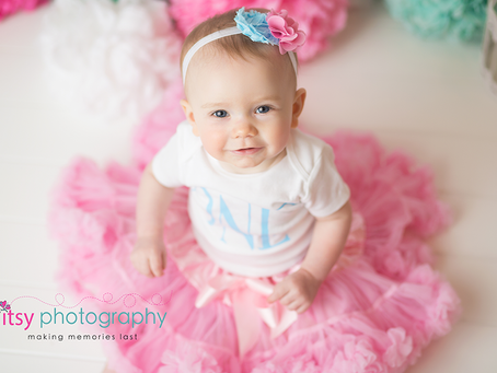 Baby G Is One Year Old ~ DC, VA, MD Newborn Baby Family Photographer