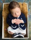 Newborn photographer, baby photographer, newborn, boy, infant, newborn posing ideas, brown flokati, basket,