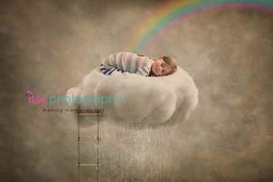 Itsy Photography, Professions, careers, when i grow up, dream job, pretend, Photoshop, composite, sleeping, cloud, resting, dreaming, stairs, rainbow, surreal, surrealism