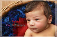 Newborn photographer, baby photography, infant photography, newborn boy, , new born posing ideas, basket, patriotic,