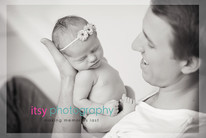 baby photographer, newborn photographer, infant photographer, dc photographer, new born, boy, girl, infant, baby, newborn posing ideas, baby wrapping, black and white, dad, floral headband