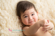 baby photographer, family photographer, dc photographer, white flokati, cream flokati, baby boy, one year old, first birthday, baby posing ideas