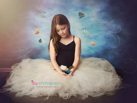 Ballerina Photo Session ~ DC, VA, MD Newborn Baby Family Photographer