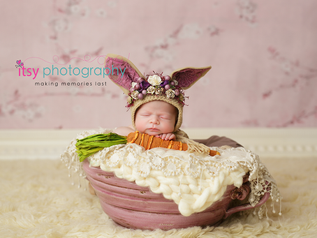Newborn and Cake Smash Session Baby Girl ~ DC, VA, MD Newborn Baby Family Photographer