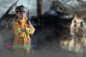 Itsy Photography, Professions, careers, when i grow up, dream job, fire fighter , house fire, fireman, fire woman, fire hydrant