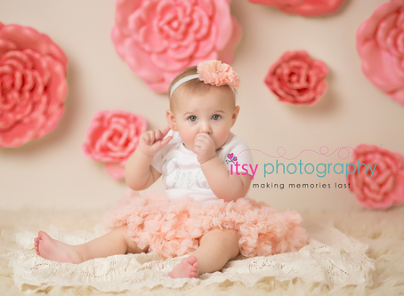Baby E Is One Year Old! ~ DC, VA, MD Newborn Baby Family Photographer