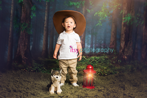 Itsy Photography, Professions, careers, when i grow up, dream job, pretend, Photoshop, composite image, lantern, wolf, camper, camping, explorer, forest