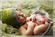 Newborn photographer, baby photography, infant photography, newborn boy, white wrap, baby, green flokati, green crochet hat