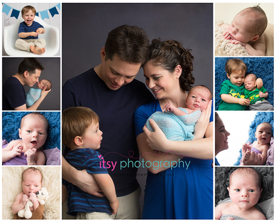 Newborn photographer, baby photography, infant photography, newborn boy, family, collage, newborn posing ideas, baby wrapping, mom , dad, big brother, little brother