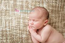 Newborn photographer, baby photography, infant photography, newborn boy, Burlap, Cream backdrop