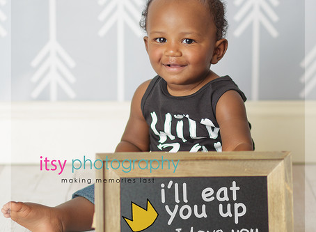 Baby Kai Mini Cake Smash Session Where the Wild Things Are ~ DC, MD Newborn Baby Family Photographer