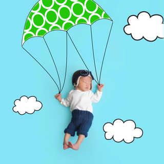 IMG_9874 green dots newborn parachute.jp